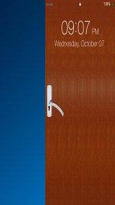 Door Passcode Lock Screen