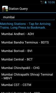 Indian Railway Train Status