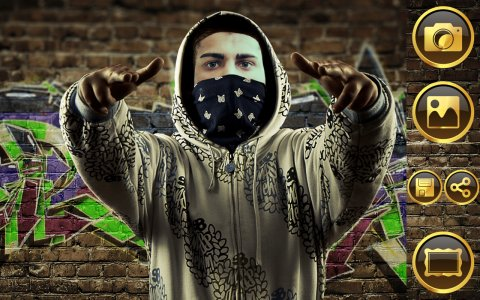 Instant Gangsta Photo Montage