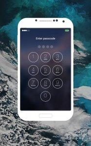 Lock Screen IOS9