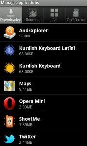Kurdish Latin Keyboard