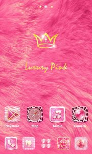 (FREE) Luxury Pink GO Theme