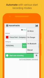 Automatic Mileage Log GPS Tracker for Businesses