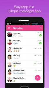 WaysApp Messenger