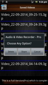 Audio and Video Recorder Lite
