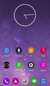 Circle Flat Theme - KK Launcher