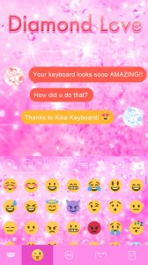 Diamond Love ? Keyboard Theme