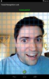 Facial Recognition Lock Prank