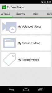 téléchargement vidéo - sociale
