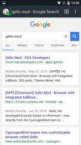 Gello Mod Android App APK (org cyanogenmod gello browser) by