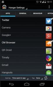 Hangar - Smart app shortcuts