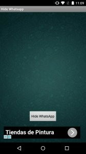 Hide Whatsapp