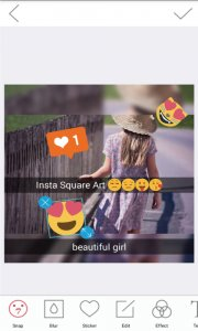 Square Art Photo Editor-Beauty cam Collage Maker