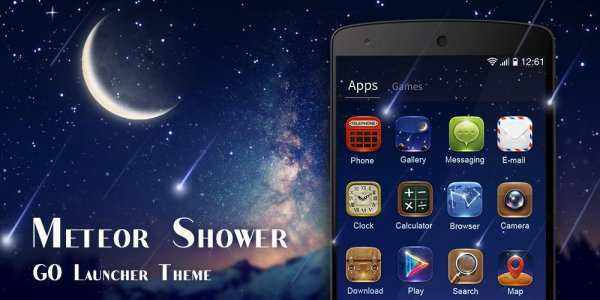 MeteorShower GO Launcher Theme