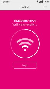 Connect App - HotSpot Manager
