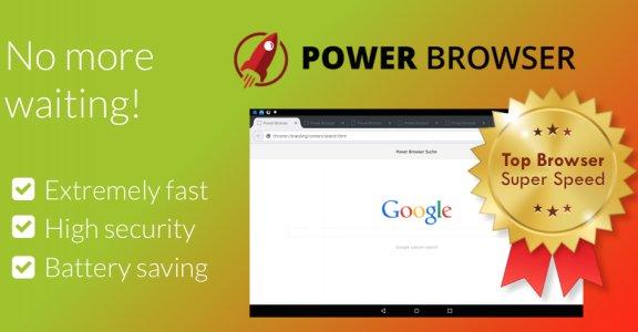 Power Browser ?เร็วและปลอดภัย