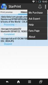 StarPrint - Mobile Print App