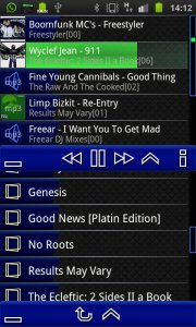 Trax Music Player