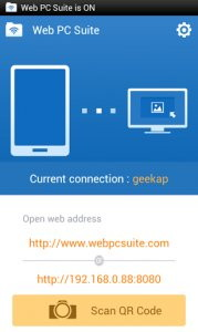 Web PC Suite - File Transfer