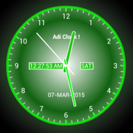 Adi Analog Clock Live Wallpaper