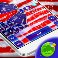 American Keyboard - I pledge allegiance to the flag of the U.S.A on my keyboard