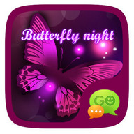 (FREE) GO SMS BUTTERFLY THEME