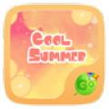 Cool Summer GO Keyboard Theme