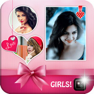 Cute Girl Photo Collage