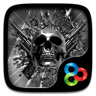 Death Metal GOLauncher EX Theme