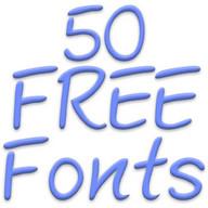 Fonts for FlipFont 50 22