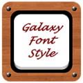 Galaxy Font Style
