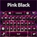 GO Keyboard Pink Black Theme