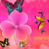 Tema Cute Pink GO Launcher EX
