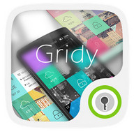 (FREE)Gridy GO Launcher Theme