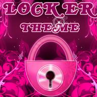 Flowers Pink Theme GO Locker