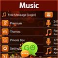 GO SMS Music Theme