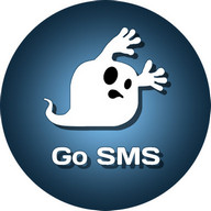GO SMS Pro Ghost Theme