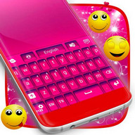 Tema Warna Keyboard Pink