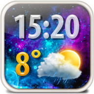 Magic Weather Clock Widget