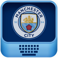 Manchester City FC keyboard