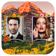 Mountains Photo Frames - Dual