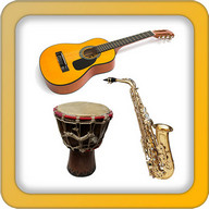 Music instruments and sounds