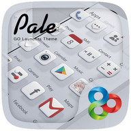 Pale GO Launcher Theme - Good taste and elegance for your smartphone theme
