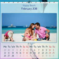 Picture Calendar 2018