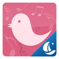 Pink Bird Boat Browser Theme