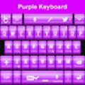 Purple Keyboard HD Theme