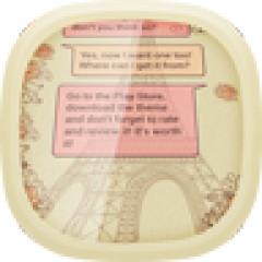 GO SMS Paris Theme