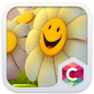 Smile CLauncher Theme