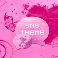 Pink Heart Tema SMS Pro