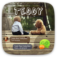 (FREE) GO SMS PRO TEDDY THEME